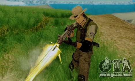 Resident Evil Apocalypse S.T.A.R.S. Sniper Skin for GTA San Andreas