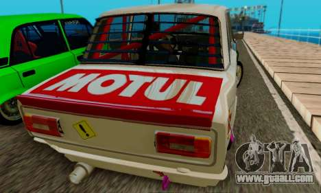 VAZ 2106 Cramps for GTA San Andreas right view
