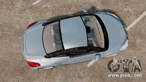 Peugeot RCZ for GTA 4 right view