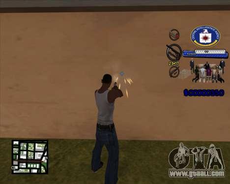 C-HUD C.I.A for GTA San Andreas second screenshot