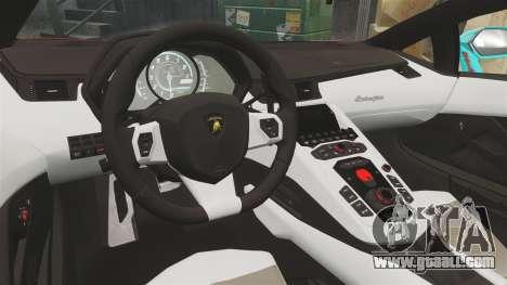 Lamborghini Aventador LP700-4 2012 [EPM] Miku for GTA 4 side view