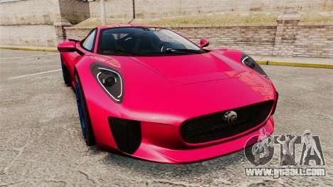Jaguar C-X75 [EPM] for GTA 4