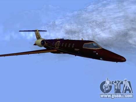 Bombardier Learjet 45 for GTA San Andreas