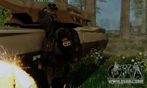Kopassus Skin 2 for GTA San Andreas forth screenshot
