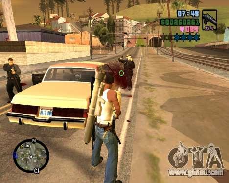 C-HUD Vice Sity for GTA San Andreas fifth screenshot