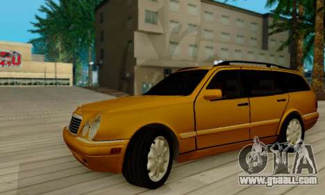 Mercedes-Benz E320 Wagon for GTA San Andreas back view