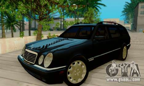Mercedes-Benz E320 Wagon for GTA San Andreas left view