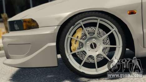 Mitsubishi Galant8 VR-4 for GTA 4 back left view