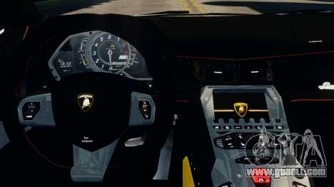 Lamborghini Aventador LP720-4 2012 for GTA 4 right view
