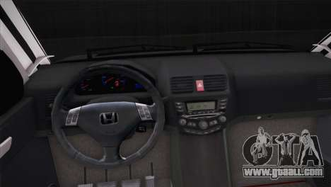 Honda CR-V Hellaflush for GTA San Andreas back view
