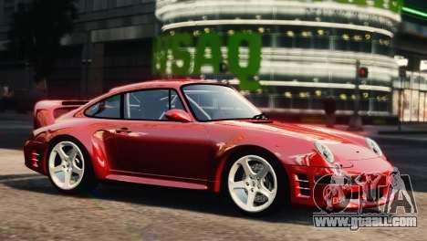 RUF CTR2 1995 for GTA 4 back left view