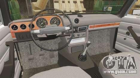VAZ-2106 Lada [Final] for GTA 4 inner view