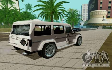 Benefactor DUBSTA for GTA San Andreas right view