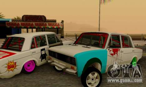 VAZ 2106 Cramps for GTA San Andreas