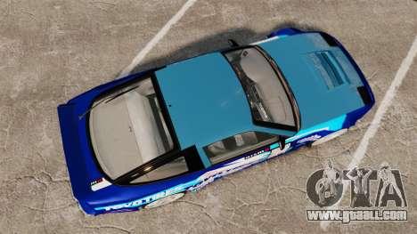 Mazda RX-7 Kawabata Toyo for GTA 4 right view
