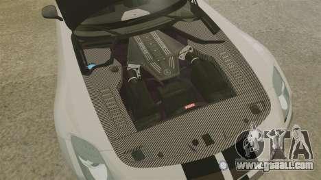 Mercedes-Benz SLS 2014 AMG NFS Stripes for GTA 4 inner view