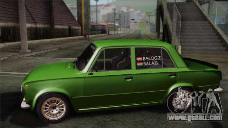 Lada 1200 R for GTA San Andreas left view