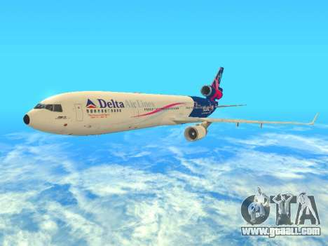 McDonnell Douglas MD-11 Delta Airlines for GTA San Andreas