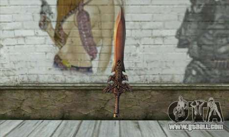 Sword for GTA San Andreas second screenshot