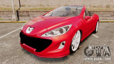 Peugeot 308 CC for GTA 4