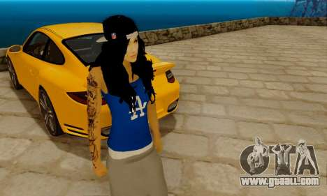 Ophelia v2 for GTA San Andreas second screenshot