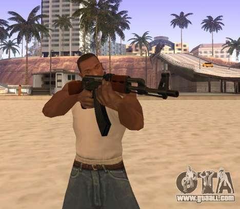 AK-47 for GTA San Andreas forth screenshot