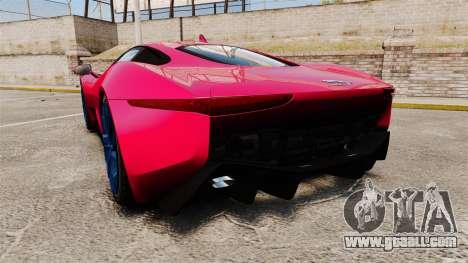 Jaguar C-X75 [EPM] for GTA 4 back left view