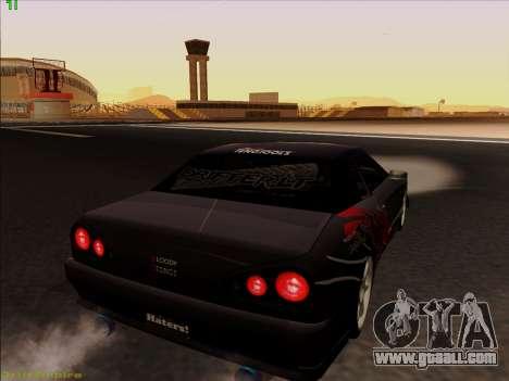 Vinyls for Elegy for GTA San Andreas engine