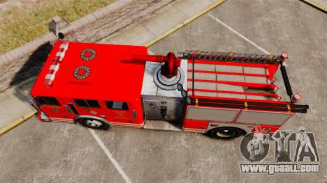 Fire Truck v1.4A LSFD [ELS] for GTA 4 right view