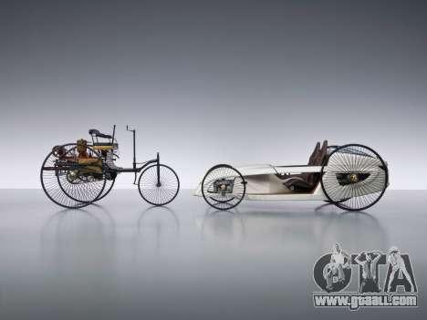 Boot screens Mercedes-Benz F-CELL Roadster for GTA 4 fifth screenshot