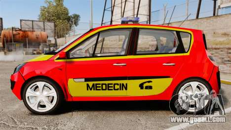 Renault Scenic Medicin v2.0 [ELS] for GTA 4 left view