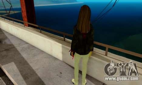 Kim Kameron for GTA San Andreas second screenshot