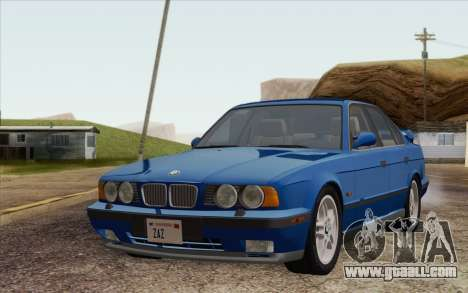 BMW M5 E34 1994 NA-spec for GTA San Andreas