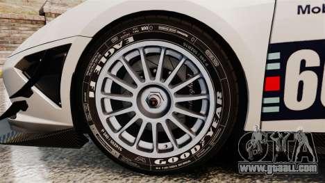 Lamborghini Gallardo LP570-4 Martini Raging for GTA 4 back view