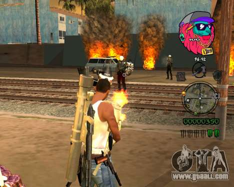 C-HUD Lion for GTA San Andreas second screenshot