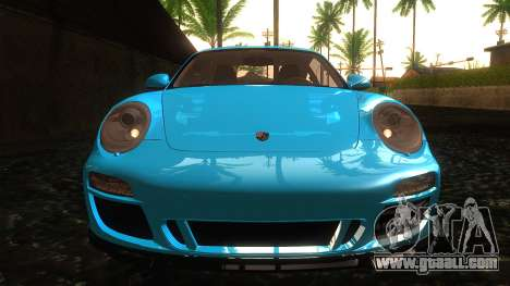 Porsche 911 Carrera GTS 2011 for GTA San Andreas side view