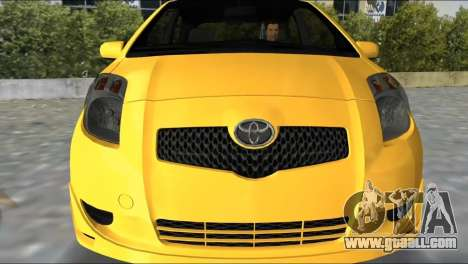 Toyota Yaris for GTA Vice City left view