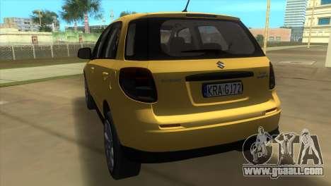 Suzuki SX4 Sportback for GTA Vice City back left view