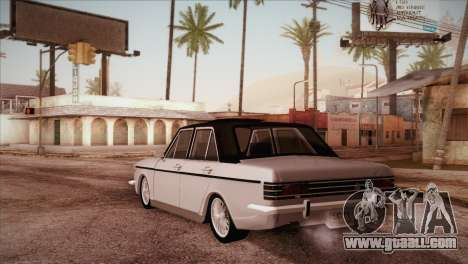 Peykan 48 Blackroof for GTA San Andreas back left view