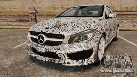 Mercedes-Benz CLA 250 2014 AMG Prototype for GTA 4