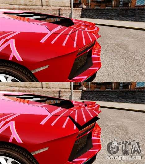 Lamborghini Aventador LP700-4 2012 [EPM] Miku for GTA 4 inner view