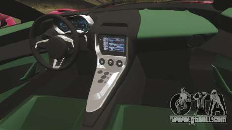 Jaguar C-X75 [EPM] for GTA 4 side view