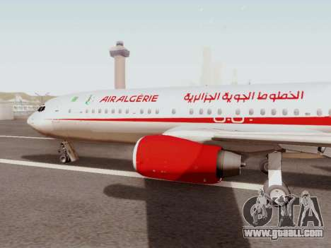 Boeing 737-800 Air Algerie for GTA San Andreas left view