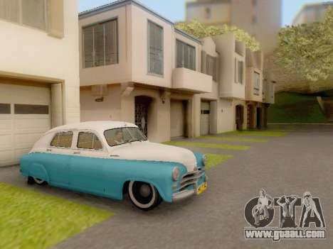 GAZ M-20 Pobeda for GTA San Andreas right view