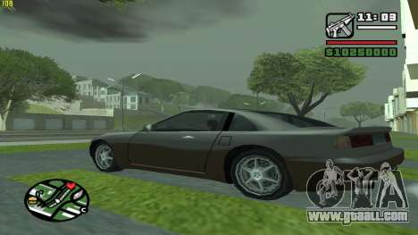 Weather Menu for GTA San Andreas third screenshot