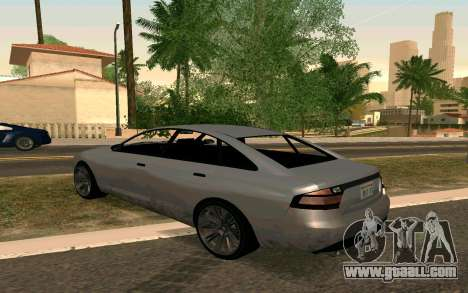 GTA V Obey Tailgater for GTA San Andreas left view