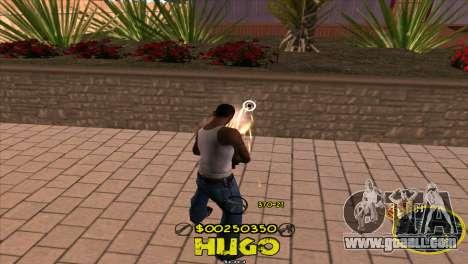 C-HUD Vagos by Hugo for GTA San Andreas third screenshot
