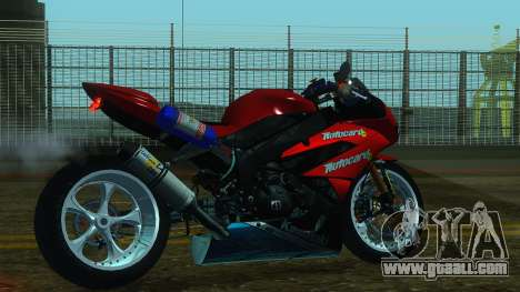 Kawasaki Ninja ZX-6R for GTA San Andreas left view