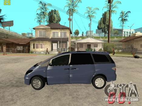 Toyota Estima KZ Edition 4wd for GTA San Andreas left view