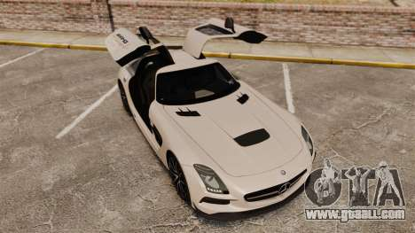 Mercedes-Benz SLS 2014 AMG Driving Academy v1.0 for GTA 4 upper view
